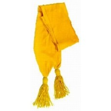 Shoulder Sash, YELLOW color made of wool