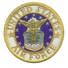 MANUFACTURERS AND SUPPLIER OF HAND MADE BULLION USA BADGE.
