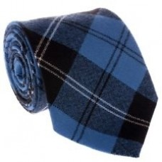 New Wool Highland wear Scottish Clan Tartan Neck Tie in Ramsay Blue Ancient