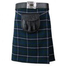 Blue Douglas 5 Yard 10 oz Scottish Highland KILT 30-54