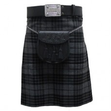 Grey Granite Scottish Kilt Package 5 yards