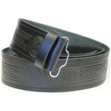 Celtic Embossed Kilt Belt
