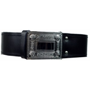Kilt Belt with Celtic Buckle