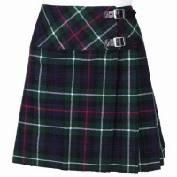 Ladies Mackenzie Tartan Scottish Micro Mini Billie Pleated Kilt