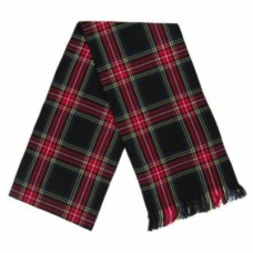 Black Stewart Tartan Ladies Sash.