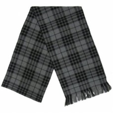 Grey Granite Tartan Ladies Plaid Sash.