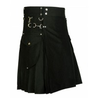 Cargo Pocket Utility New Fashion Cotton Kilt